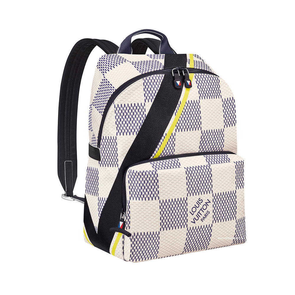APOLLO BACKPACK - €1750 $N44017DAMIER COASTLINE JAUNE