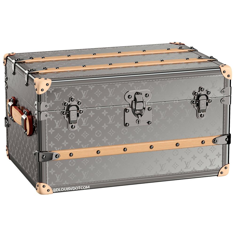 MALLE CABIN 60 - €60,000 $M20027MONOGRAM TITANIUM