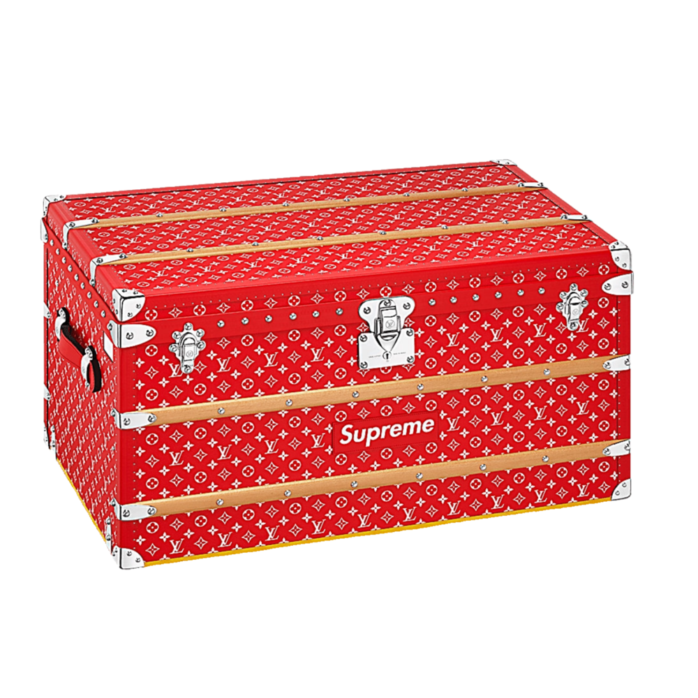 SUPREME MALLE COURRIER 90 - €50,000 $68,500M10000MONOGRAM RED