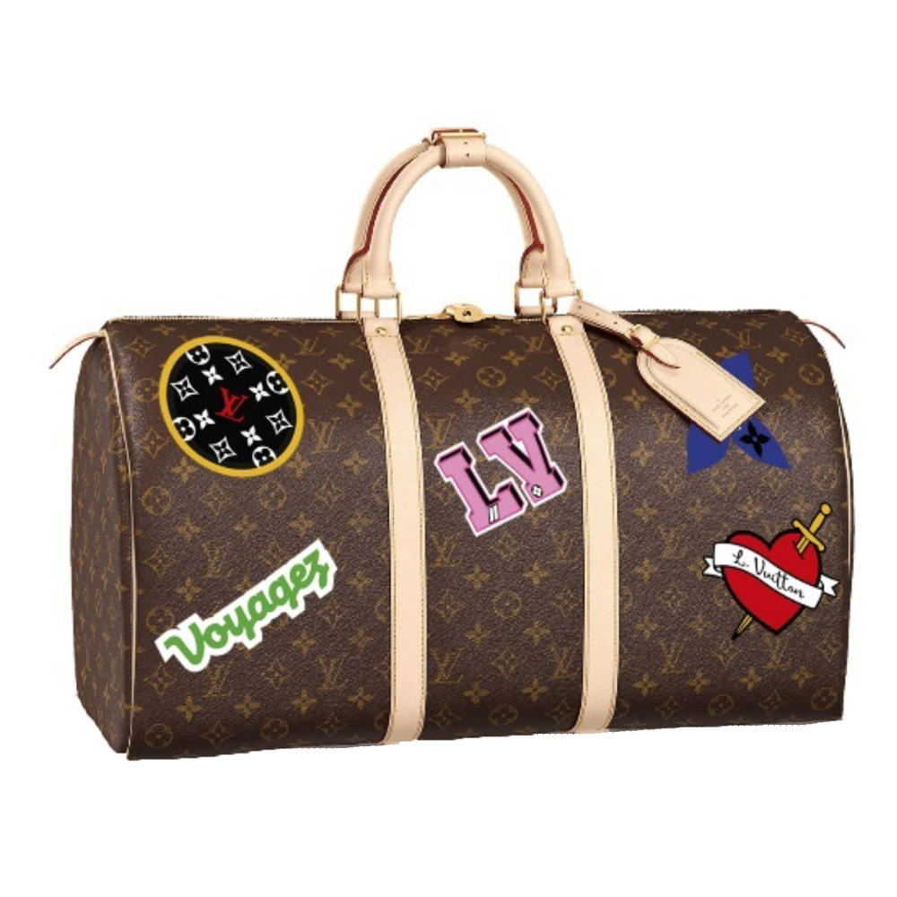 KEEPALL 50 - €1740 $2360M43996MONOGRAM PATCHES