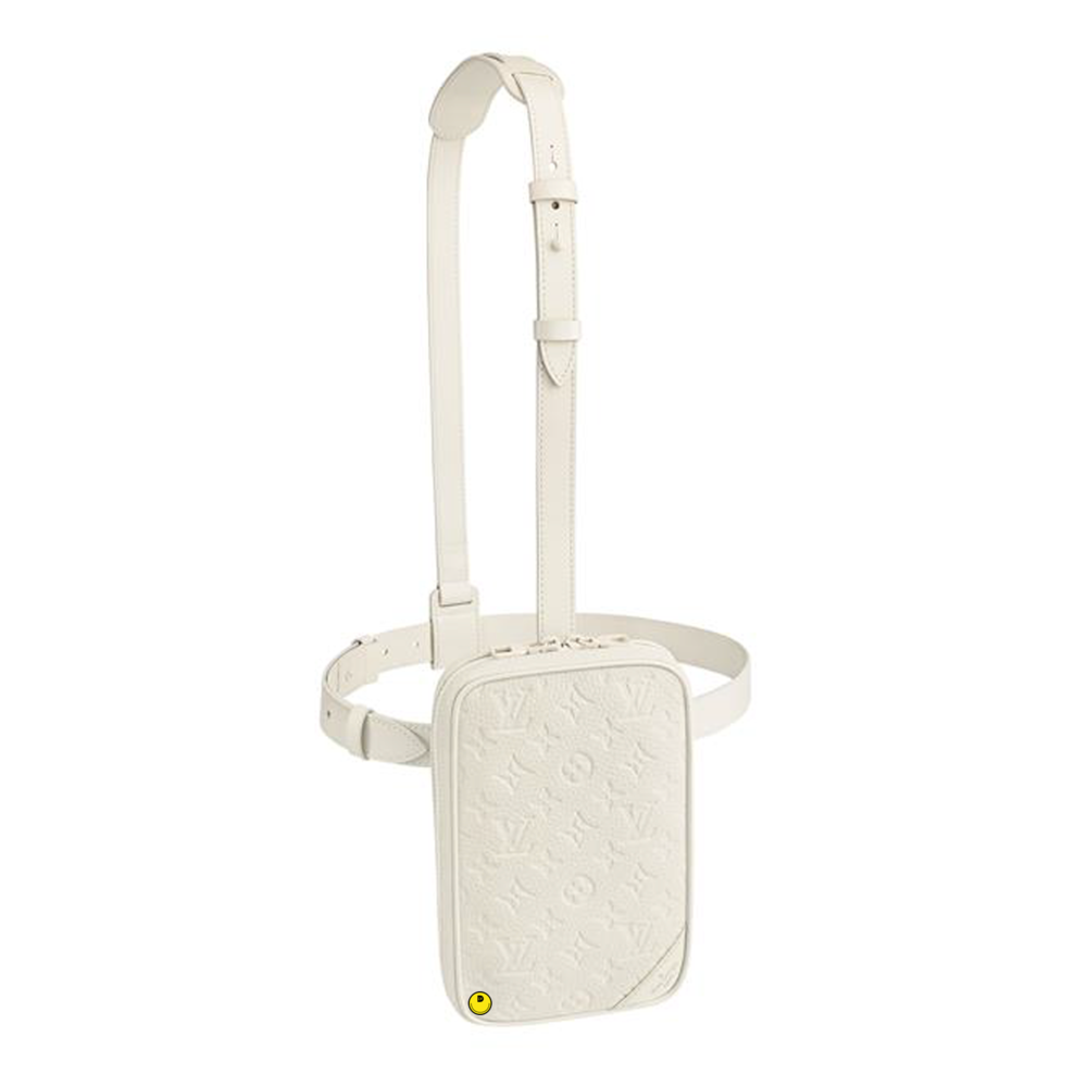 SIDE UTILITY BAG - €2290 $3100M53256POWDER WHITE