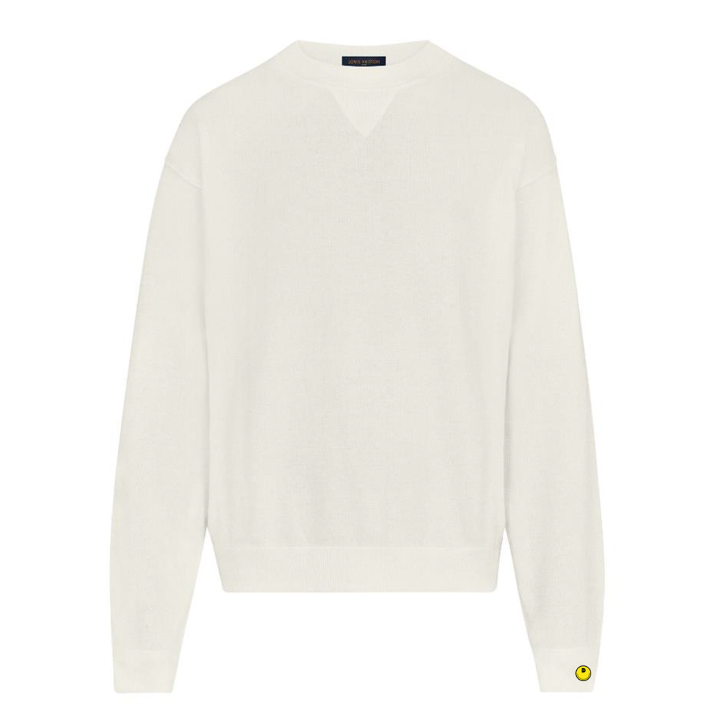 INSIDE OUT CREWNECK - €890 $-BLANC