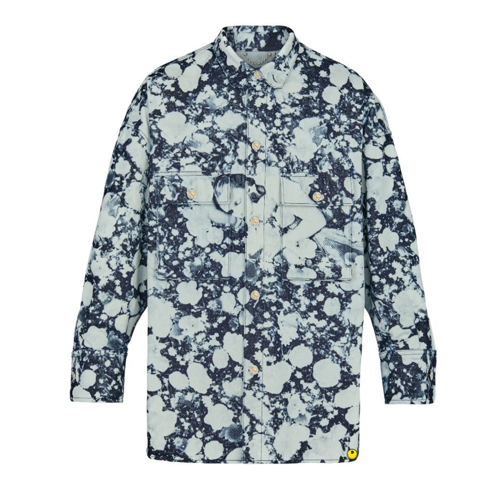 POPPIES denim shirt - €1900 $-DENIM POPPIES