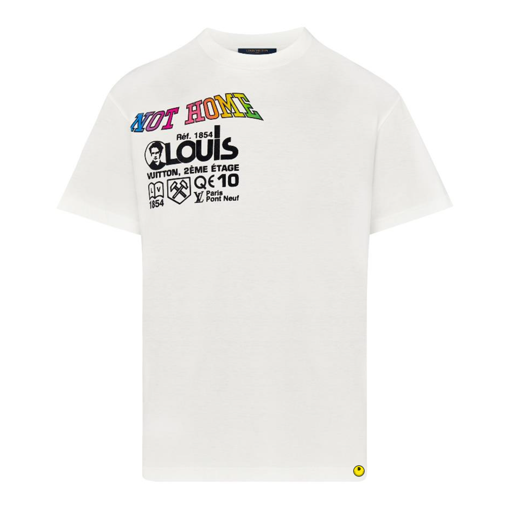 NOT HOME TEE - €490 $-BLANC