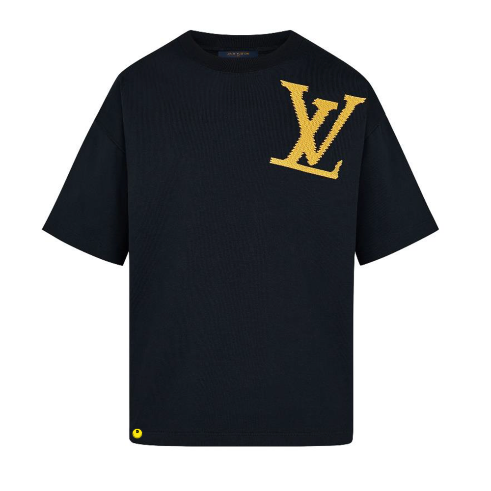 YELLOW BRICK LV TEE - €450 $-NOIR