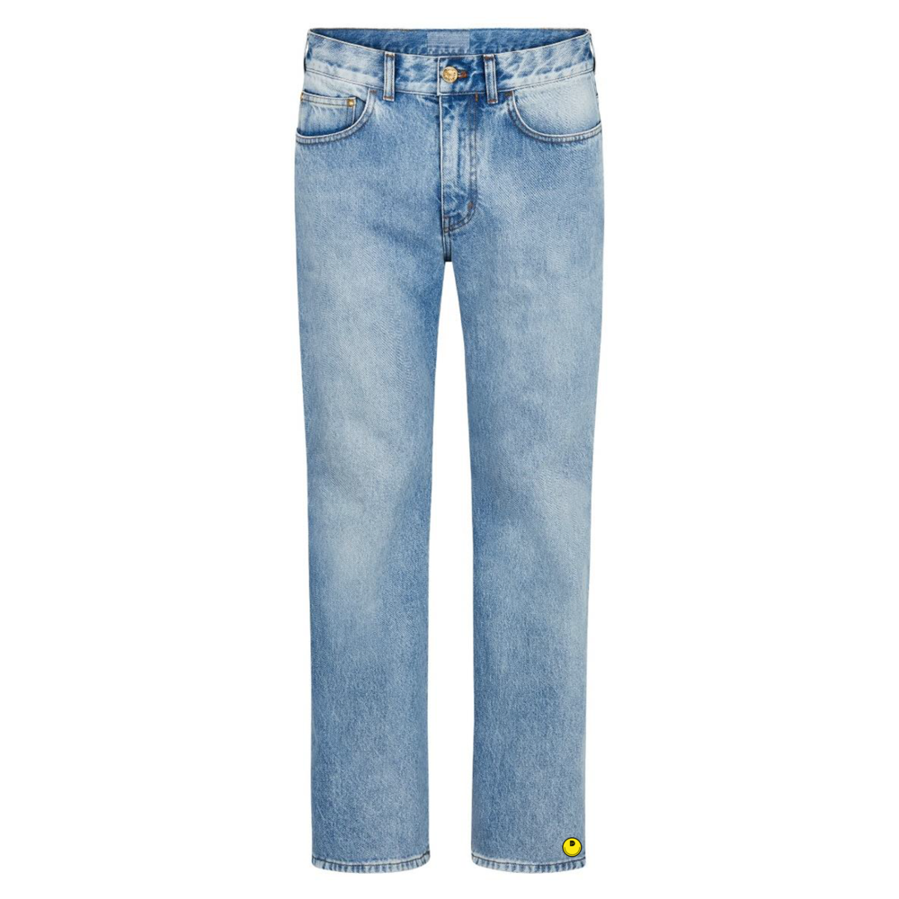 DENIM FLARED JEANS - €890 $-DENIM BLEU