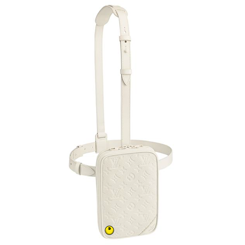 UTILITY SIDE BAG - €2290 $3100M53297TAURILLON POWDER WHITE