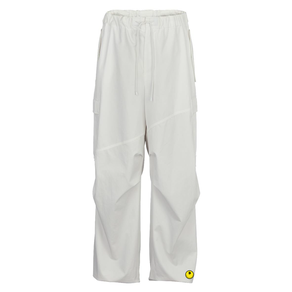 CARGO WIDE LEG TROUSERS - €1100 $-BLANC