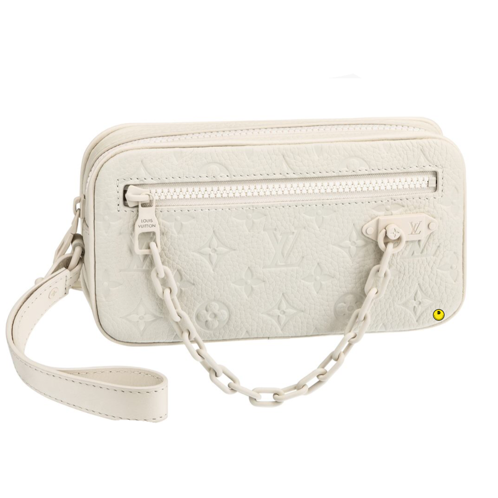 POCHETTE VOLGA - €1320 $1940M53551TAURILLON POWDER WHITE