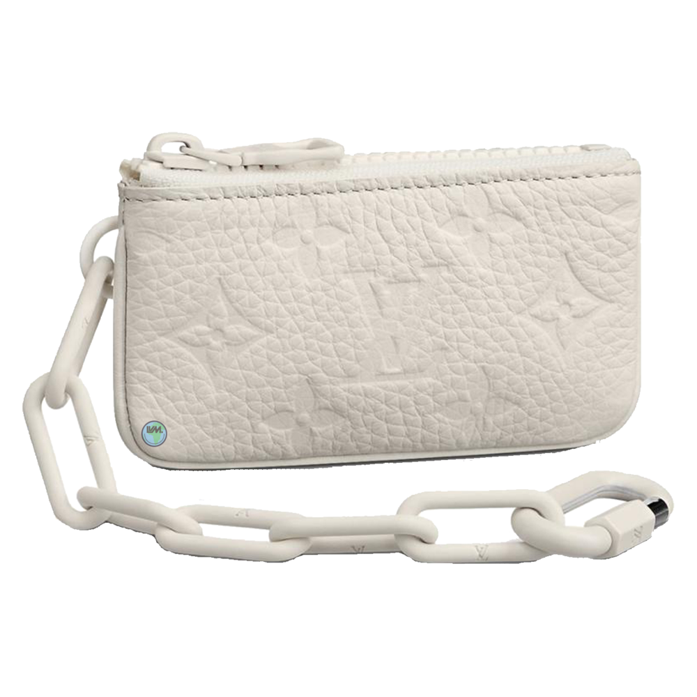 POCHETTE CLES - €560 $830m67451taurillon powder white