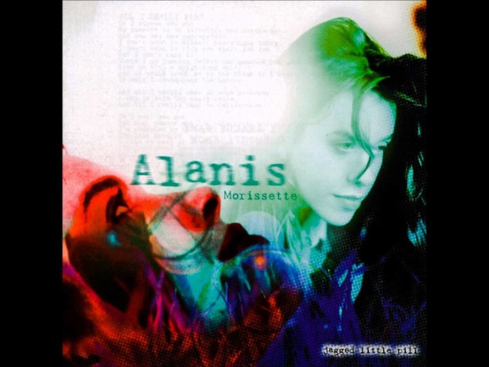 """Ironic"" is the third single from Morissette's 1995 album,  Jagged Little Pill"