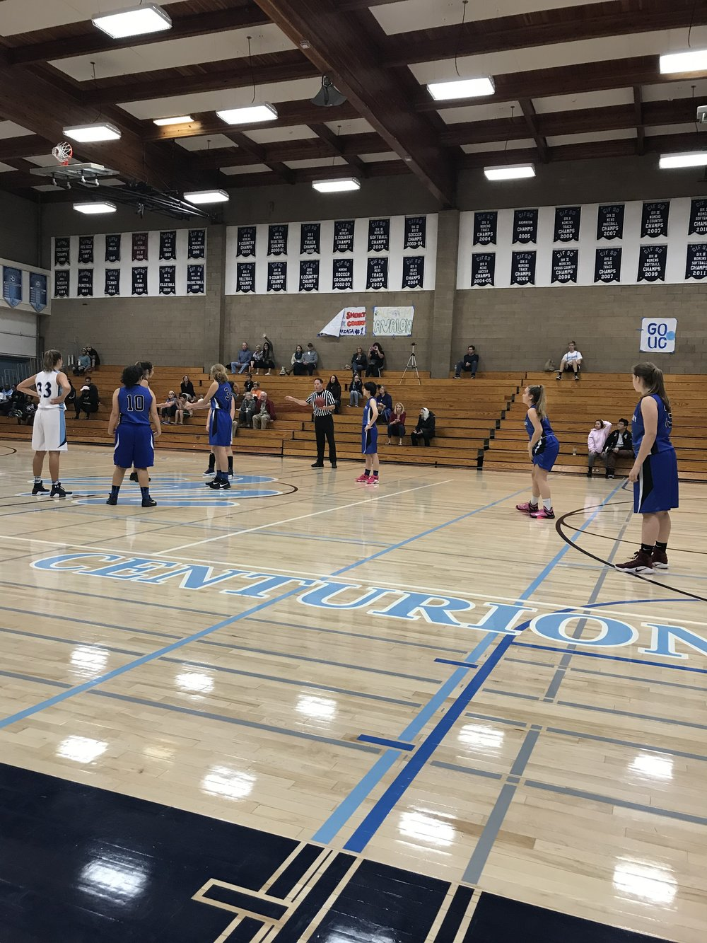 First game of the season for the Lady Torreys girls basketball JV team!