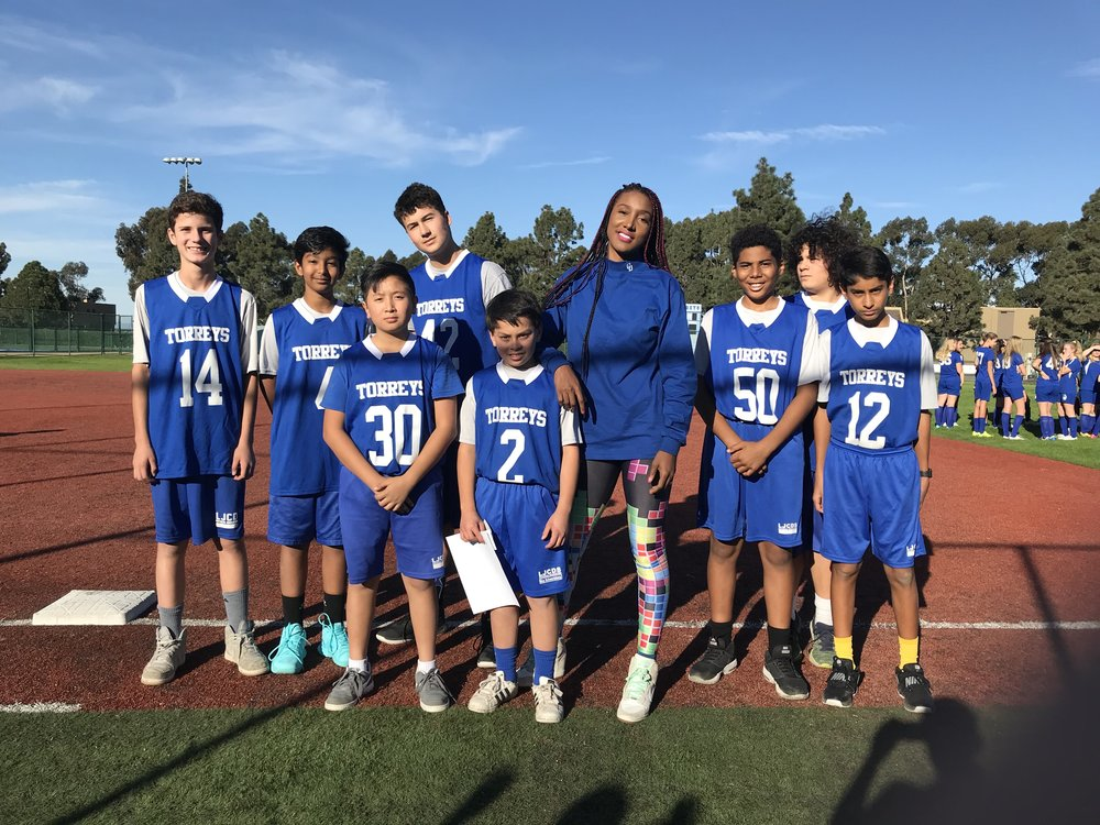 "The ""Blue"" squad held it down for us today and have earned the starting position in tomorrow's game against The Bishop's School. After being down 14-25 at halftime, this unit brought the score to 24-29 before substitutions came."
