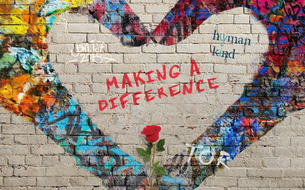 """The theme for the 2018 Rose Parade was """"Making A Difference"""""""