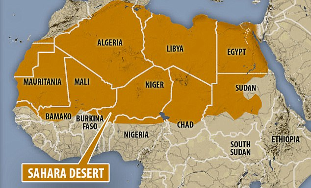 The geography shapes the identity of Algerians more than anything else. I learned this northern region of African identity is highly shaped by the Sahara Desert.