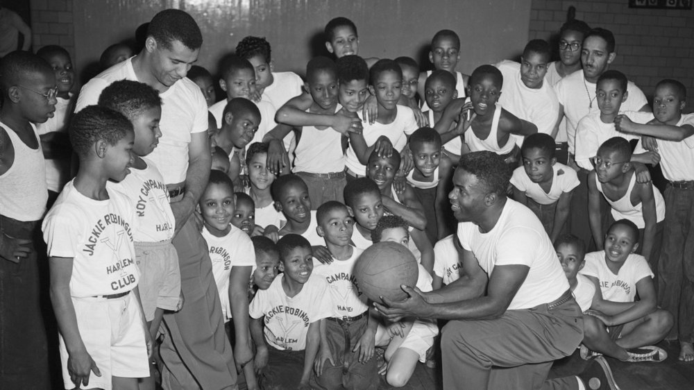 Jack began an association with the Harlem YMCA that would last the rest of his life during his first year in MLB