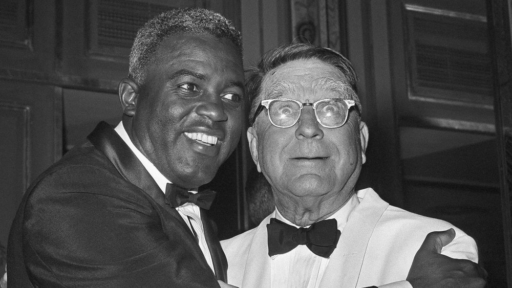Robinson and Rickey: The 2 men who changed sports.
