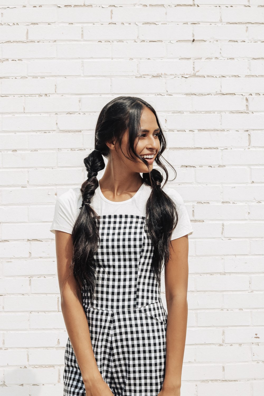 Pull-Through Pigtails - This is such a fun style for days when you want something flirty and easy. Looks cute with graphic tees and jumpers!