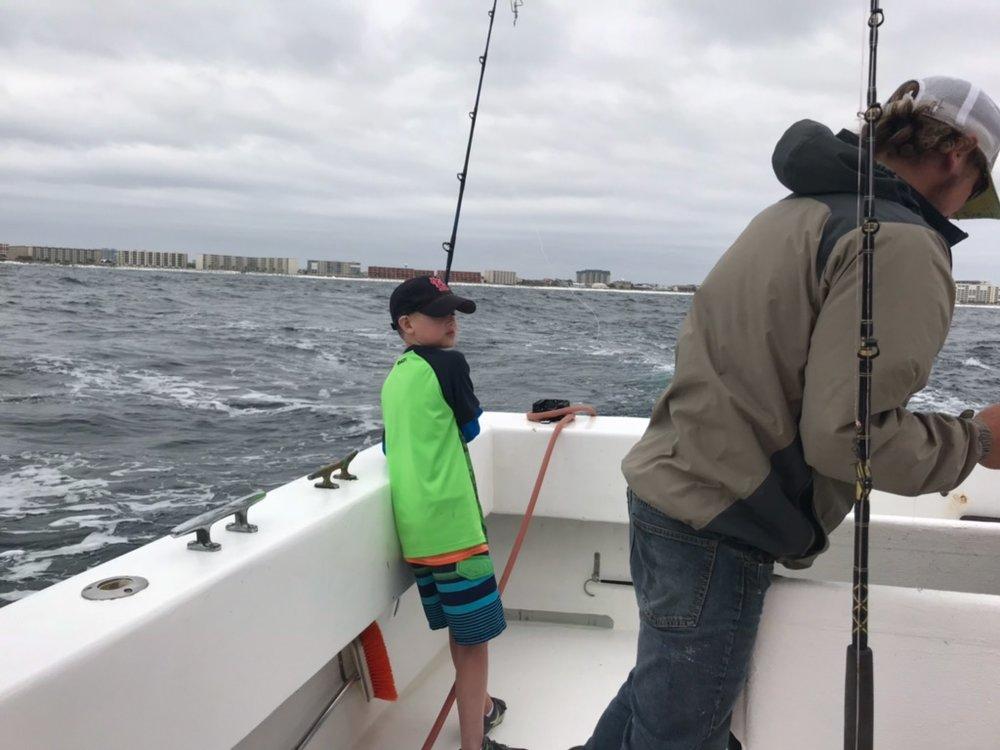 Jobe Taggart, Deep Sea Fishing