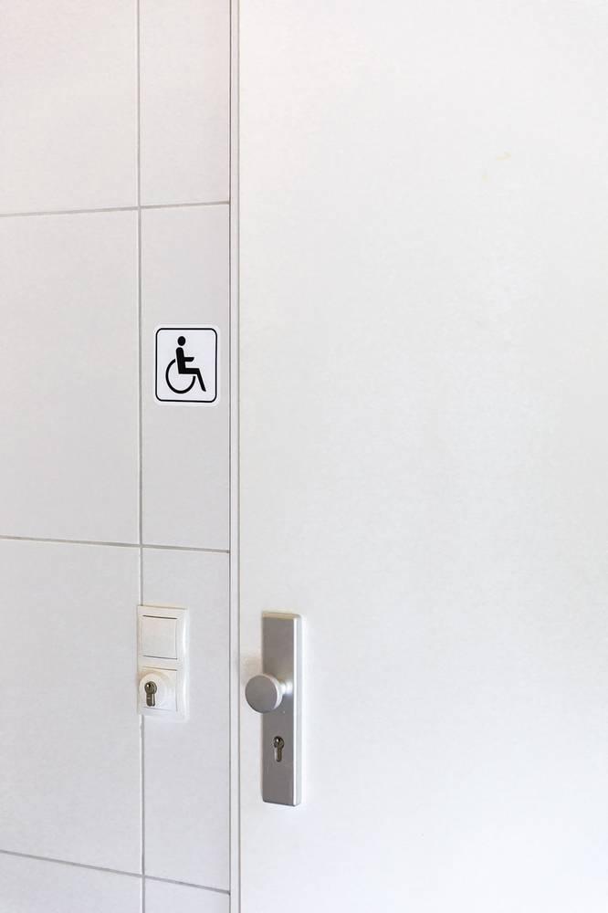 Behindertengerechter Rau