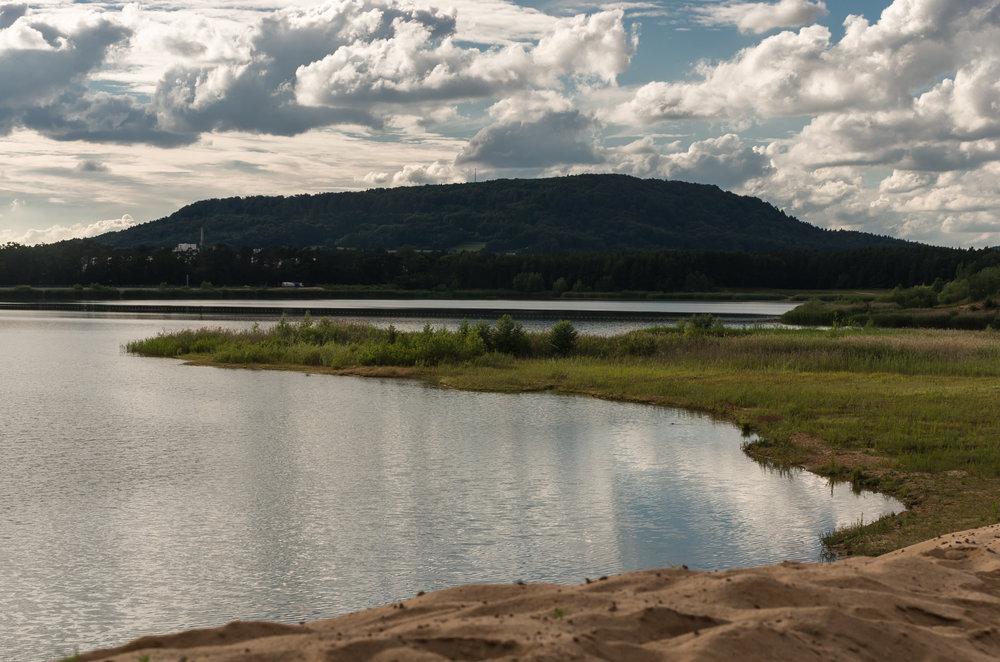 Nahegelegener Baggersee (bei Greiselbach/Sengenthal)
