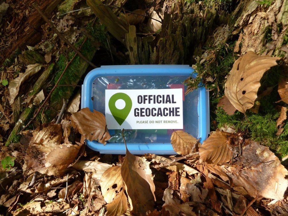 Geocaching suchen und verstecken