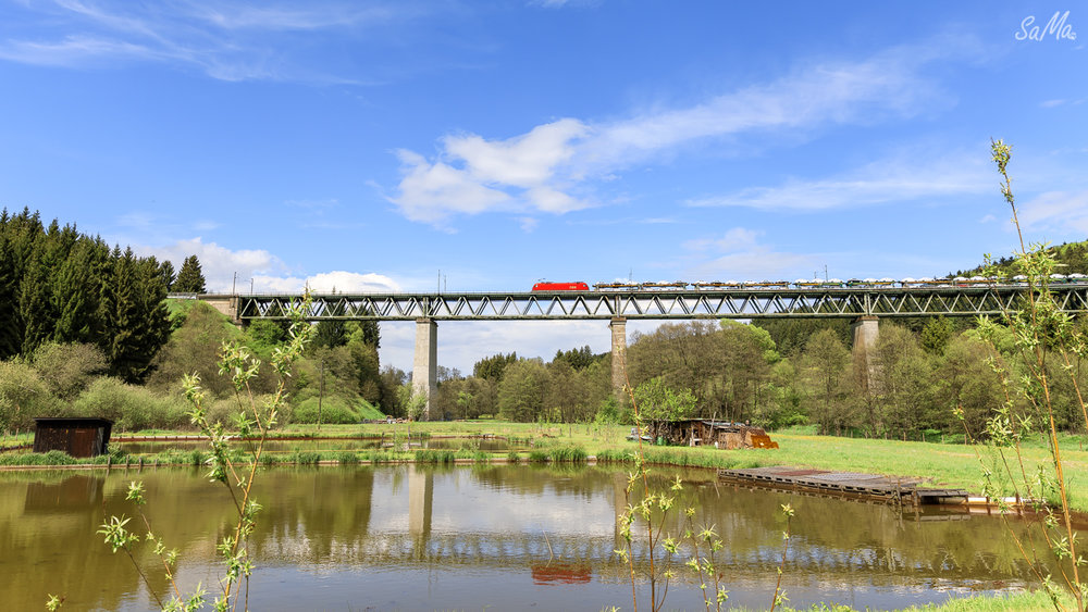 Weg 1871-Eisenbahnbrücke