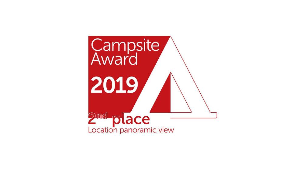 Gewinner 2019, beim Campsite Award in der Kategorie: Lage Landschafts-Panorama