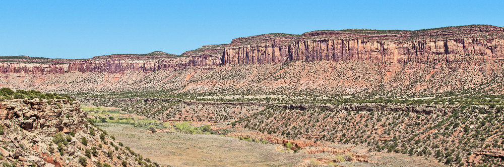 Cliffs and Valley Bears Ears