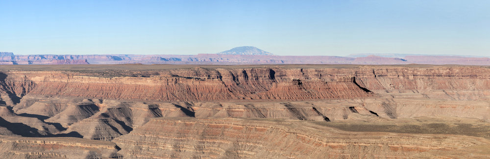Navajo Mountain and Mudhills  Bears Ears