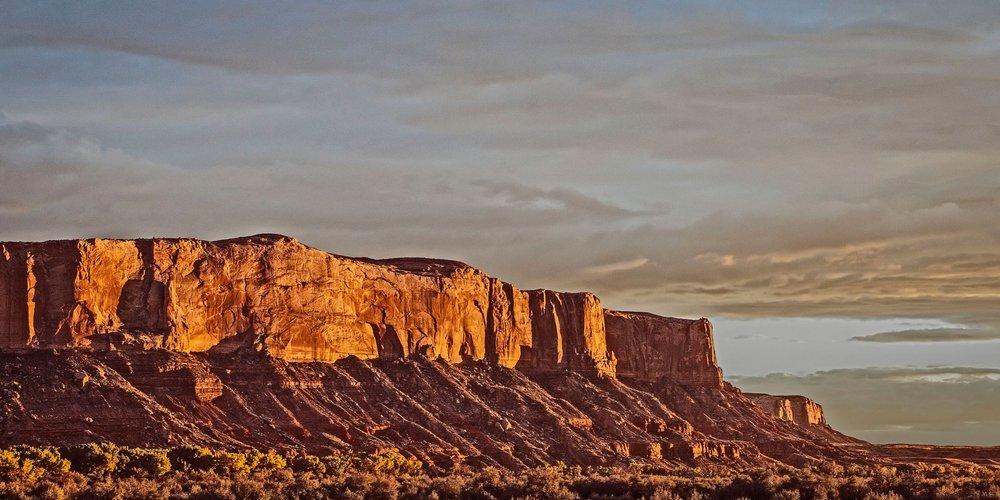 Mesa in Dramatic Lighting   Bears Ears Country