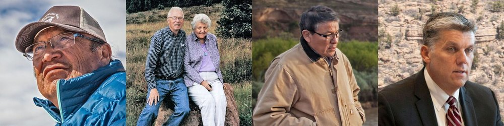 A sampling of the individuals whose voices inform the discussion in Bears Ears Country