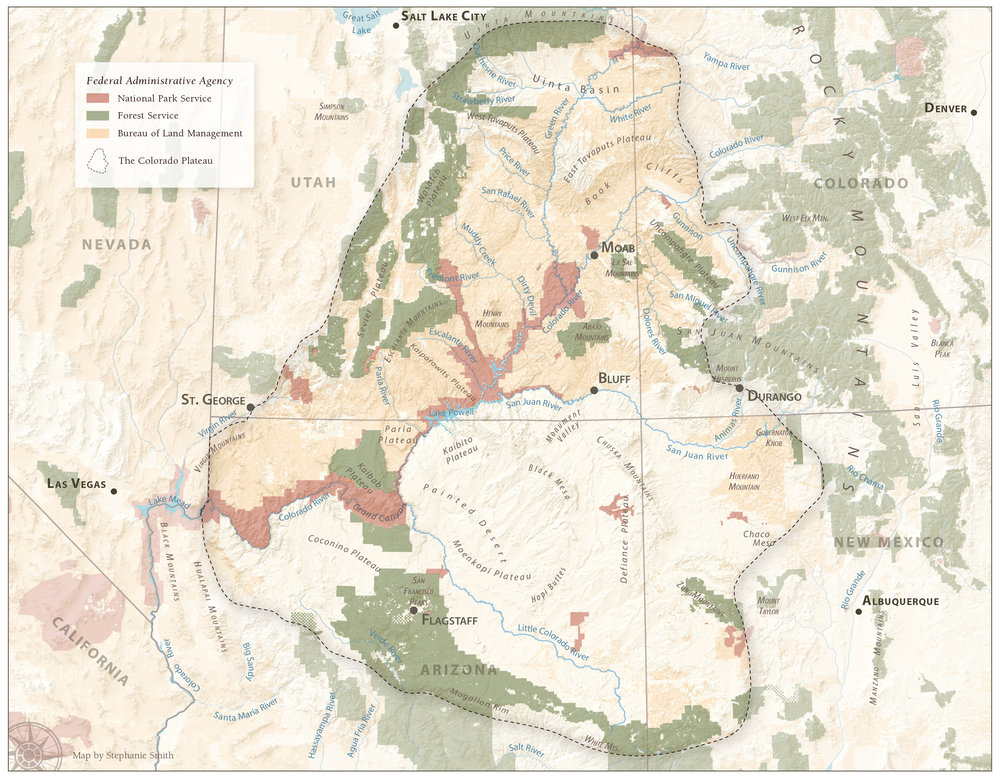 Federal Lands on the Colorado Plateau