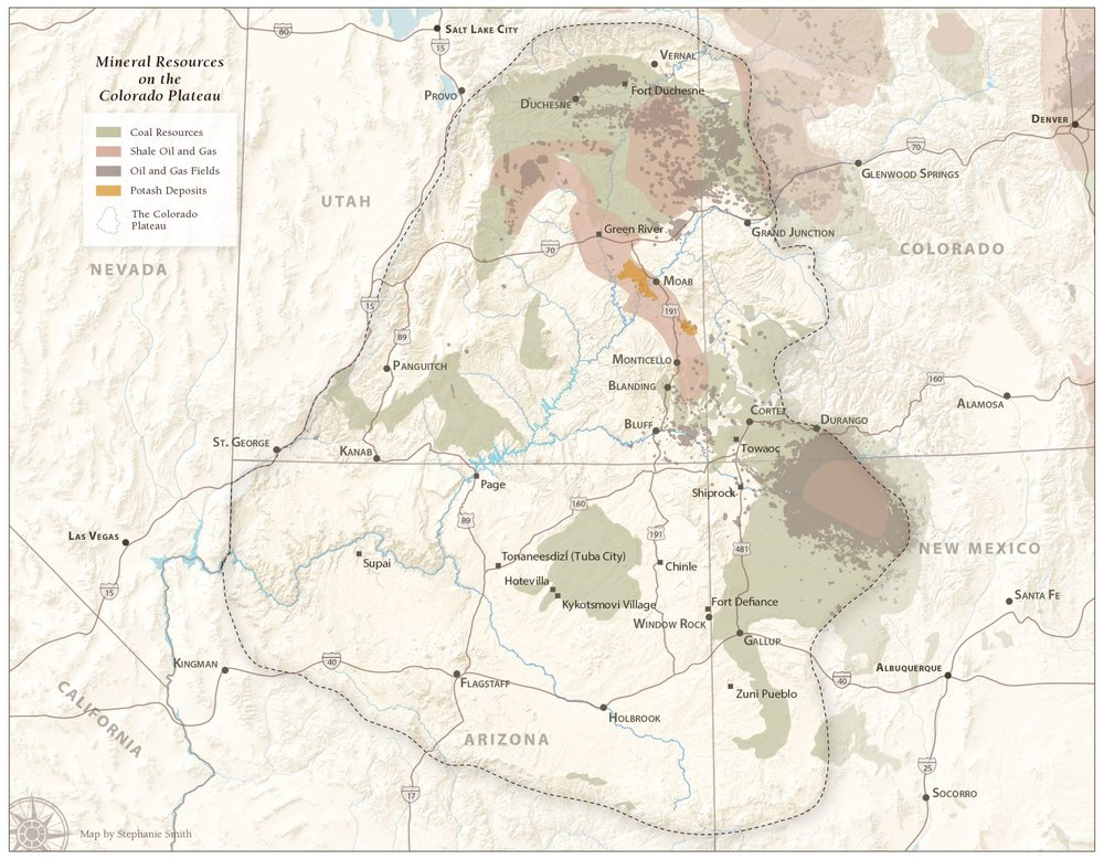 Mineral Resources on the Colorado Plateau