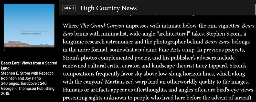 High Country News Review