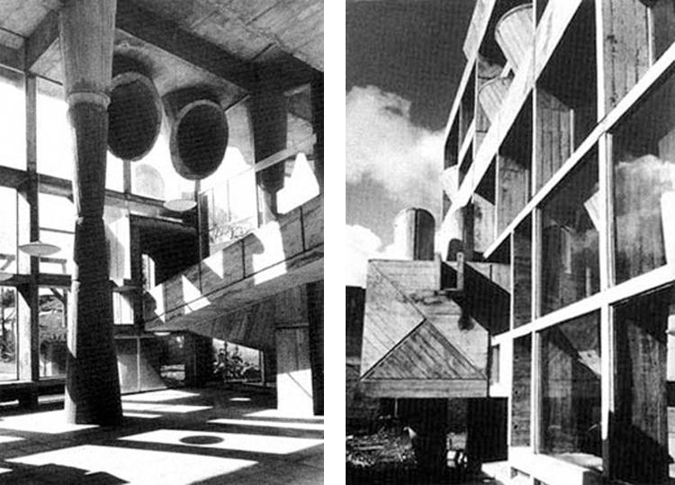 El edificio de la Copelec proyectado por Jesús Bermejo, Isidro Suarez y Juan Borchers en Chillán