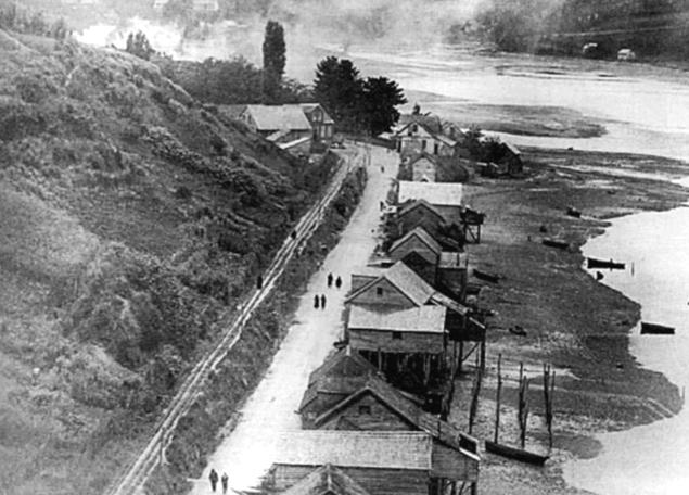 1. Primeros palafitos hacia 1930
