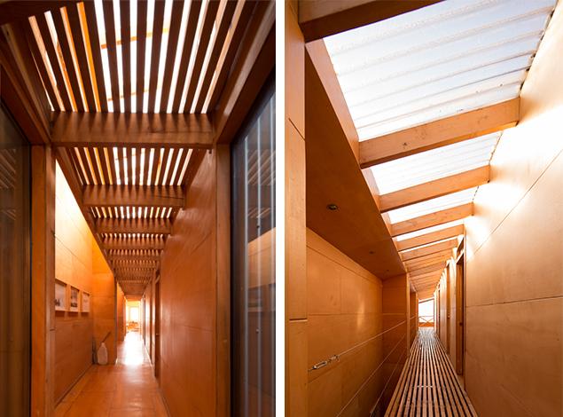 3. Corredor de dos pisos / Two story corridor - ©Federico Cairoli