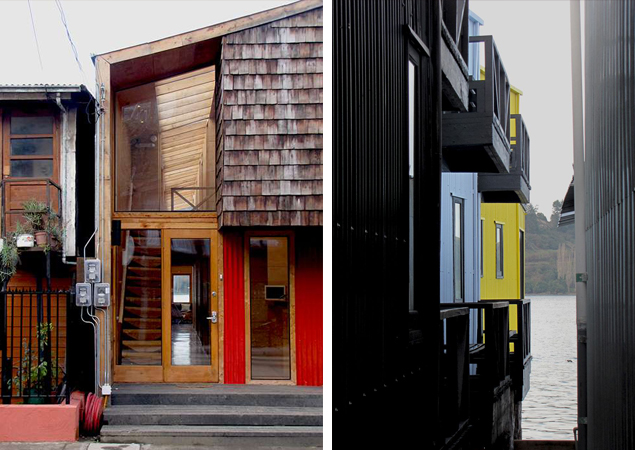 7. Materiales de revestimiento exterior / Facade materials . © Ortuzar-Gebauer Arquitectos