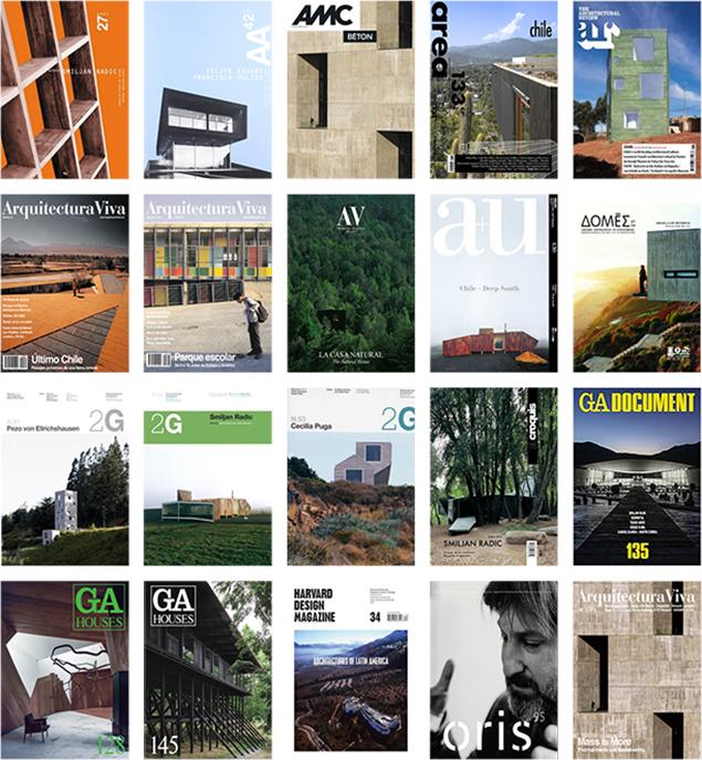 Arquitectura chilena en portada de revistas especializadas editadas fuera de Latinoamérica (2000-2015)