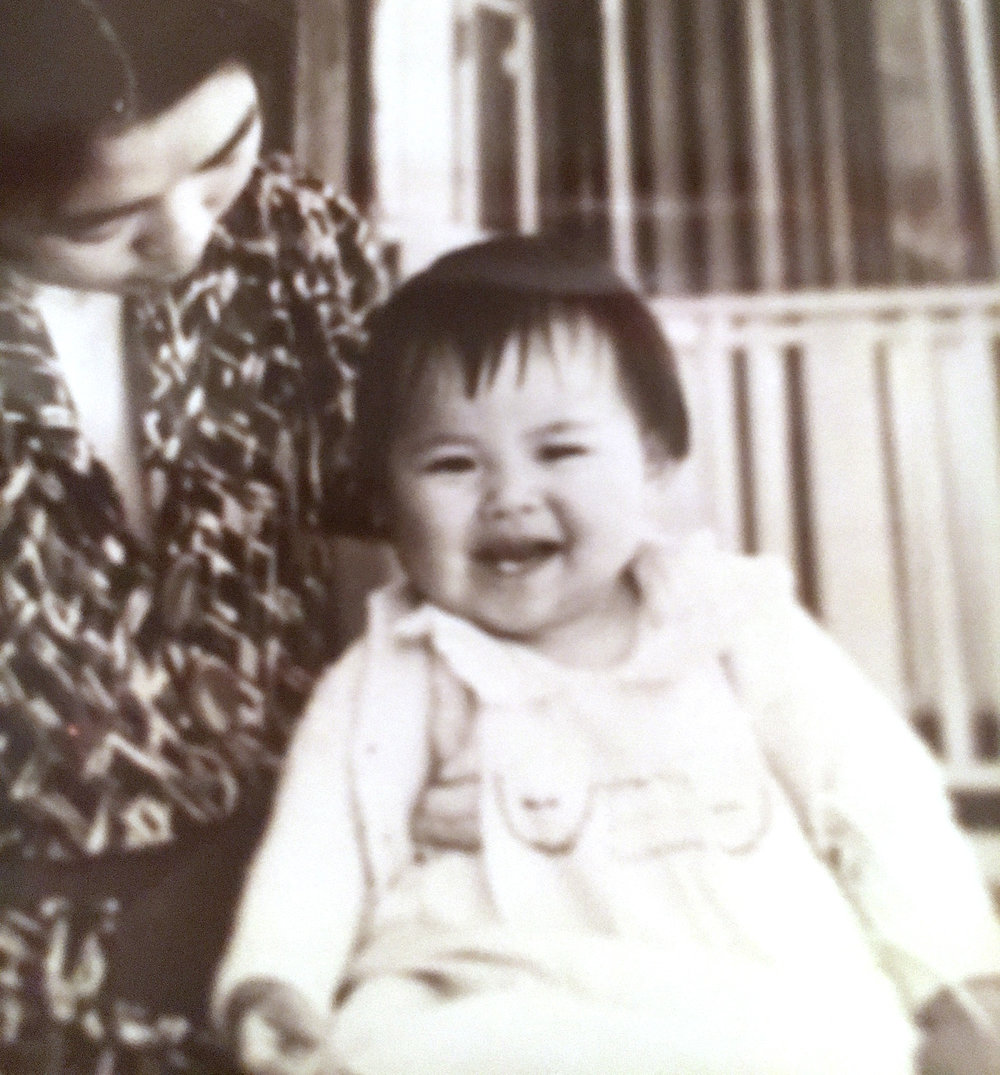 Joan Tomiko Seko at about 18 months of age with my mother Haruno. ( Courtesy photo )