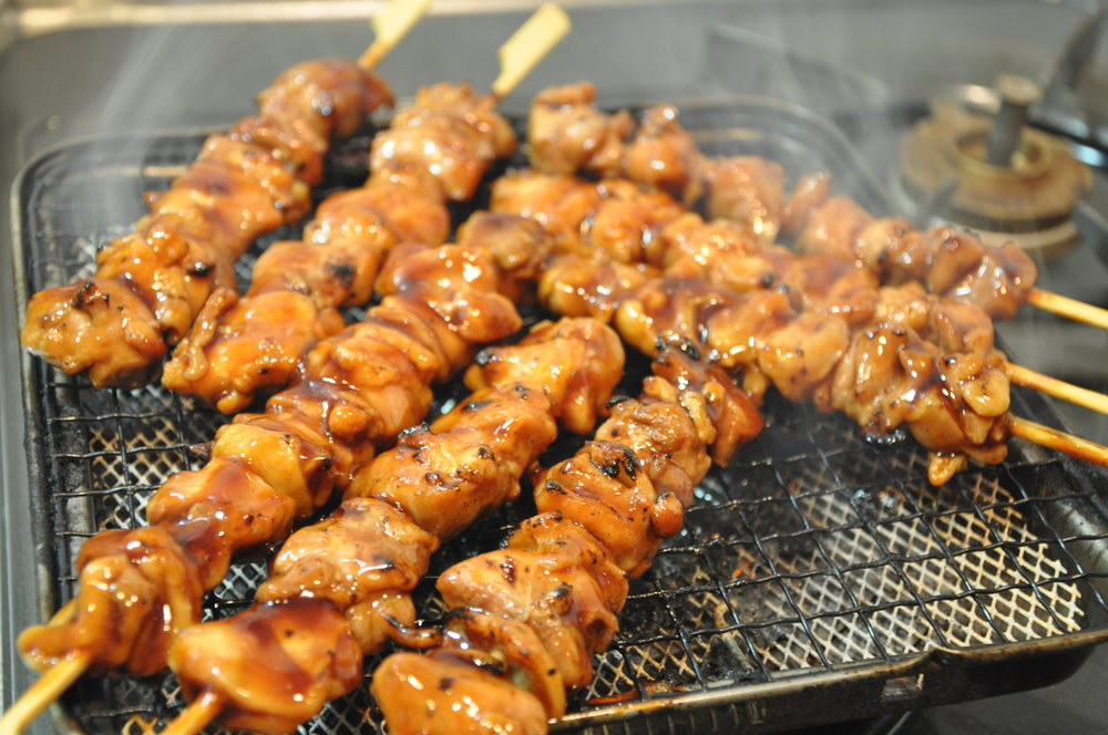 Chicken yakitori skewers. (Photo:  TAKA@P.P.R.S / Flickr )