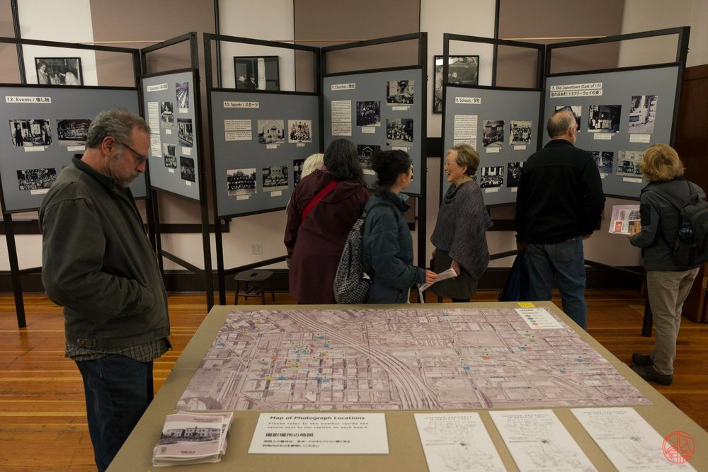 An exhibit on Seattle's old Nihonmachi during Bunka no Hi 2017. Photo by Jason Go.