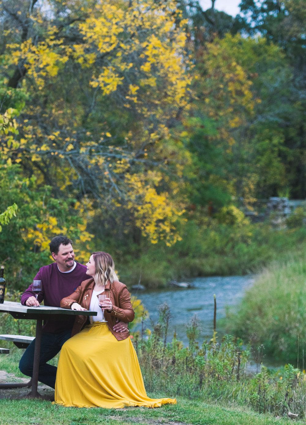 Fargo, North Dakota engagement photos - Chelsea Joy Photography