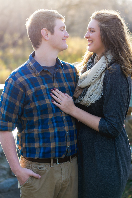 Buffalo River State Park Engagement Photos | Chelsea Joy Photography
