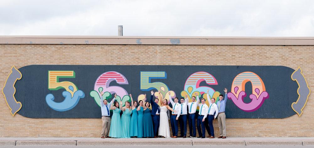 Fargo Moorhead Wedding Photography in Downtown Moorhead by Chelsea Joy Photography