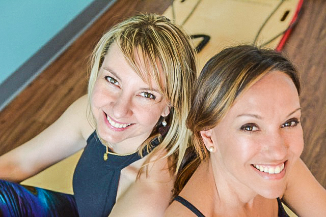 Pilates South Austin Co-Founders Beth Dukleth and Kari Levassar.