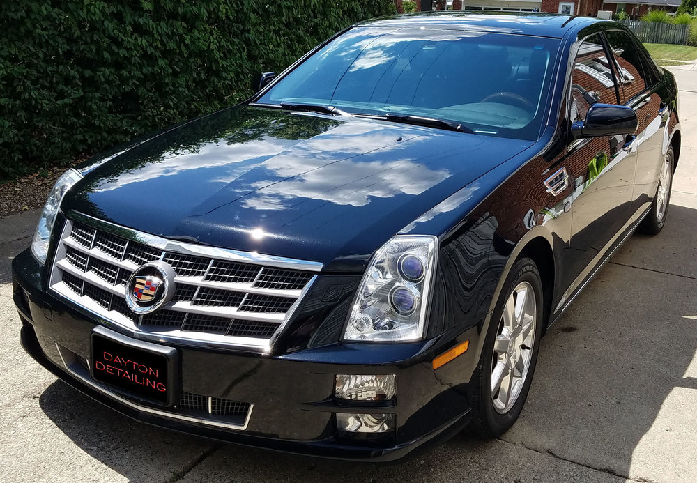 2011 Cadillac STS - Services Received:  +Platinum Exterior Package  +Gold Interior Package