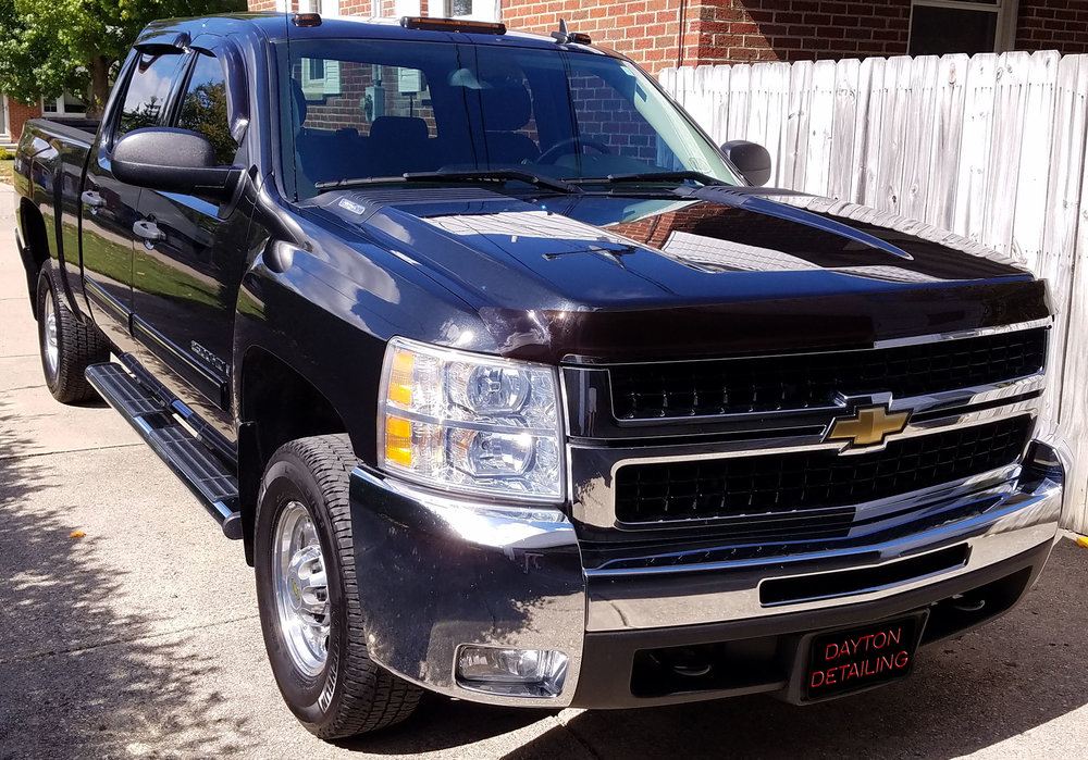 2009 Chevrolet Silverado 2500 - Services Received:  +Platinum Exterior Package  +Gold Interior Package