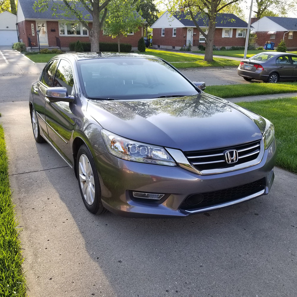 2013 Honda Accord - Services Received:  +Platinum Detail Package